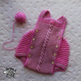 Ranita con diferentes tonos de rosa.