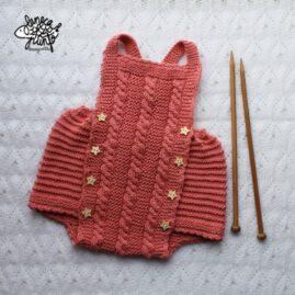 Ranita color coral de algodón.